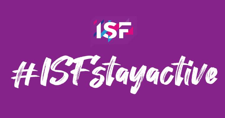 Zapojte se do celosvětové kampaně ISF Stay Active