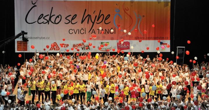 Česko se hýbe, cvičí a tančí